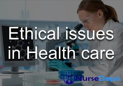Ethical issues in health care