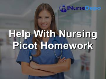 Help With Nursing Picot Homework